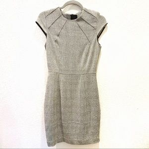 H&M Black and White Tartan check dress - Size 4